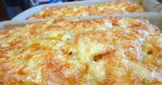 Πεντανόστιμο και πανεύκολο τυρόψωμο από την Πορταριά Πηλίου ΥΛΙΚΑ 500 γρ. αλεύρι που φουσκώνει μόνο του 1 κουτ. γλυκού μπέικιν πάουντερ Λίγο αλάτι 250 γρ.