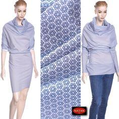 Tkanina bawełna koszulowa DROPPI