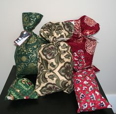 HomeAid Crafts: Reusable Fabric Gift Bags