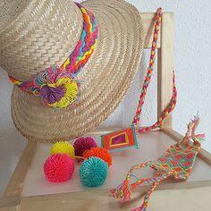 Esta mezcla de colores me flipa #wayuu #wayuumadrid  #hat #hats #sombreros…