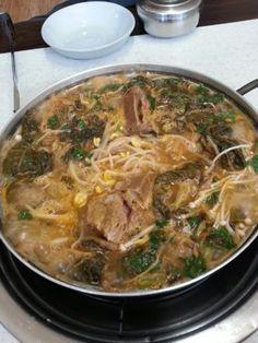 양산착한식당 한방상황 보쌈감자탕 : 국내산 돼지등뼈,직접만든양념