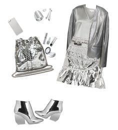 """""""Super Foil"""" by dolleee ❤ liked on Polyvore featuring MANGO, Reiss, Isabel Marant, STELLA McCARTNEY, Maison Margiela, Zero Gravity, Ippolita, Edge Only, AXL by Triton and Urban Decay"""