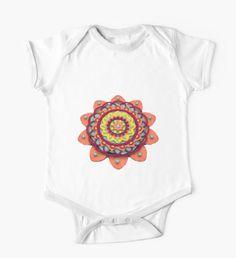 Angel Decuir Mandala  Tienda @redbubble Ropa para bebés y niños | Clothes for babies and children  #artprint #shop http://rdbl.co/2knqM7O