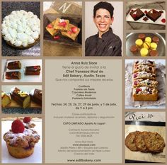Super excited to teach 5 pastry classes@ Anna Ruiz store in Mexico city in June!!