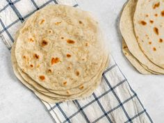 Flour tortillas are central to the cuisine of northern Mexico. Rich with lard and whole milk, these flour tortillas are airy, tender, and subtly sweet. Recipes With Flour Tortillas, Types Of Bread, Roasted Meat, Cupcakes, Skirt Steak, Serious Eats, Mexican Style, Quick Bread, Food Cakes