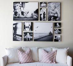 Great B/W canvas display