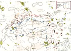 Map of the Battle of Waterloo at on June the Attack of the French Imperial Guard: map 3 by John Fawkes Waterloo Map, Battle Of Waterloo, Bataille De Waterloo, British Soldier, French Revolution, Napoleonic Wars, Prussia, Military History, Historical Photos