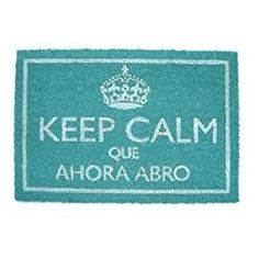 Felpudo Keep Calm Azul