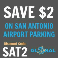SAT San Antonio Airport Parking Coupon