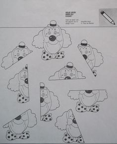 *  2 x uitdraaien. Kleuren, plakken, plastificeren en  je hebt een leuk spel! Kan ook coöperatief worden ingezet!