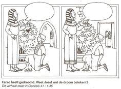 What's Different: Joseph Interprets Pharaoh's Dream