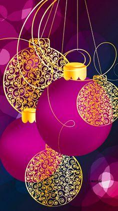 PINK CHRISTMAS, IPHONE WAALLPAPER BACKGROUND