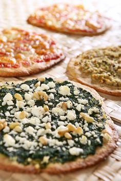 πίτσα με λαχανικά Camembert Cheese, Dairy, Pizza, Nutrition, Bread, Healthy, Recipes, Food, Brot