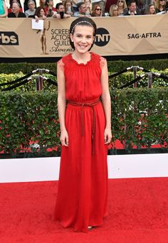SAG Awards 2017 Millie Bobby Brown