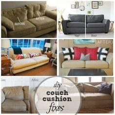 Fixing Sofa Cushions Images Sagging