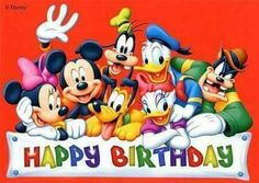 """Happy Birthday to You"" starring Mickey Mouse and the Disney House of Mouse Orchestra Happy Birthday Mickey Mouse, Birthday Wishes For Kids, Cute Happy Birthday, Happy Birthday Pictures, Birthday Songs, Happy Birthday Messages, Happy Birthday Greetings, Disney Birthday Quotes, Disneyland Birthday"