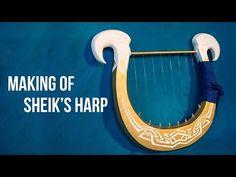 Making of Sheik's Harp - YouTube