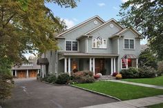 Newly constructed Colonial Home at 123 Chestnut Street, Garden City Long Island NY