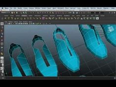 Shoe Modeling - YouTube