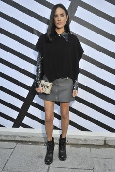 Front Row at Louis Vuitton RTW Spring 2017: Jennifer Connelly