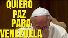 CONFIRMADO! PAPA Francisco pide PAZ a la Crisis de VENEZUELA|Noticias de VENEZUELA HOY 2 ABRIL 2018