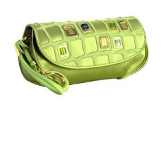 Christian Dior green satin embroidered jeweled clutch at Bluefly (40.380 RUB) ❤ liked on Polyvore featuring bags, handbags, clutches, purses, green, bolsas, satin handbags, man bag, jeweled purse and christian dior handbags