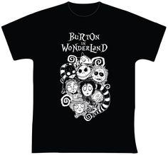 """Burton in Wonderland R$ 35,00 + frete Todas as cores Personalizamos e estampamos a sua ideia: imagem, frase ou logo preferido. Arte final. Telas sob encomenda. Estampas de/em camisas masculinas e femininas (e outros materiais). Fornecemos as camisas ou estampamos a sua própria. Envie a sua ideia ou escolha uma das """"nossas"""".... Blog: http://knupsilk.blogspot.com.br/ Pagina facebook: https://www.facebook.com/pages/KnupSilk-EstampariaSerigrafia/827832813899935?pnref=lhc…"""