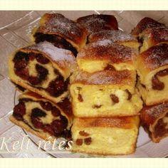 Kelt rétes 3 féle töltelékkel Recept képpel - Mindmegette.hu - Receptek Strudel, French Toast, Food And Drink, Sweets, Cookies, Baking, Breakfast, Recipes, Hungarian Recipes