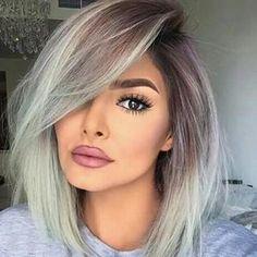 Best Ombre Hair, Ombre Hair Color, Bob Hair Color, Blond Ombre, Ombre Bob, Brown Blonde, Short Blonde, Blonde Brunette, Blonde Hair