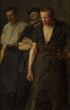 Stanislaw Lentz: Strajk, 1910.