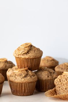 Whole Wheat Banana Muffins are the perfect grab-and-go breakfast. They freeze well also!Flavorful Whole Wheat Banana Muffins are the perfect grab-and-go breakfast. They freeze well also! Apple Oatmeal Muffins, Healthy Banana Muffins, Banana Whole Wheat Muffins, Best Dessert Recipes, Fun Desserts, Breakfast Recipes, Brunch Recipes, Breakfast Ideas, Muffin Recipes