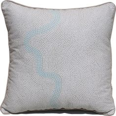 River Blue Beige Cushion Covers