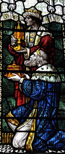 Winchcombe Stained Glass Three Kings -248