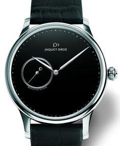 Jaquet Droz's Grande Heure Minute Onyx Watch