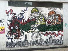 graffiti on a Chinatown street currently undergoing gentrification (so I assume it won't be there long) London Photos, Graffiti, Street, City, Cities, Walkway, Graffiti Artwork, Street Art Graffiti