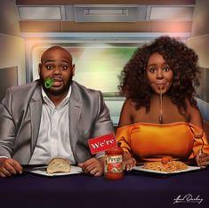 Black Couple Art, Black Girl Art, Black Couples, Black Women Art, Art Girl, Black Girls, Black Love Artwork, African American Artwork, American Cartoons