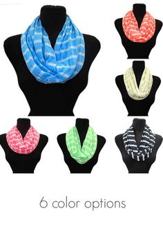 INFINITY STRIPE SUMMER SCARF - Shop Simply Me Boutique – Simply Me Boutique All About Fashion, Passion For Fashion, Spring Summer Fashion, Autumn Winter Fashion, Just Style, Summer Scarves, Got The Look, Women's Fashion, Fashion Outfits