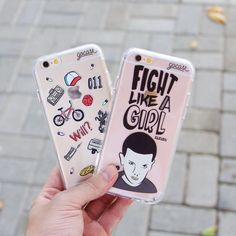Gadgets, Techno, Cellphone, Computer: Trendy cell phone cases (Iphone and Samsung) Cute Cases, Cute Phone Cases, Iphone Phone Cases, Phone Covers, Stranger Things Phone Case, Stranger Things Netflix, Iphone 7 Plus, Cell Phone Deals, Diy Pop Socket