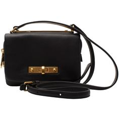 Marc by Marc Jacobs Columbus small leather crossbody ($325) ❤ liked on Polyvore featuring bags, handbags, shoulder bags, bolsas, purses, accessories, black, leather crossbody, crossbody shoulder bags and black leather crossbody