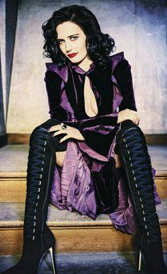 Eva Green, photo by Ellen Von Unwerth, Glamour Italia, 2016 Ellen Von Unwerth, Tim Walker, Cindy Crawford, Avocado Shampoo, Image Fashion, Women's Fashion, Gothic Fashion, Actress Eva Green, Non Blondes