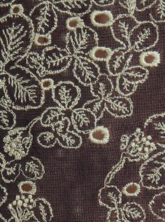 Detail of Mina Perhonen's sometimes lucky dress.