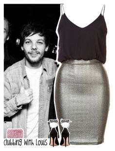 """Clubbing with Louis"" by lottieaf ❤ liked on Polyvore featuring TFNC, Valentino, Mr & Mrs Italy, OneDirection and louistomlinson"