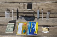 An interesting wallet EDC carry. Be careful carrying lock picks many places require you to be a licensed locksmith. TEOTWAWKI Blog: Wallet Survival Kit