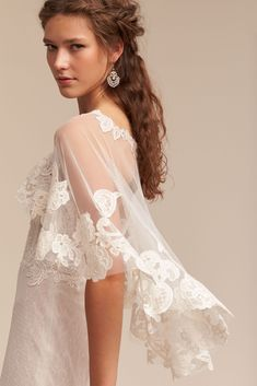 Adorlee Cape from @BHLDN