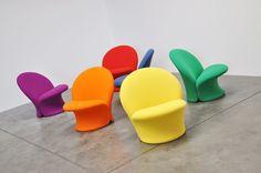 Pierre Paulin F572 Artifort chairs 1967