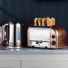 Dualit® Classic Copper Collection - from Lakeland