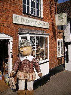 Teddy Bears shop, Sheep Street, Stratford-upon-Avon, England
