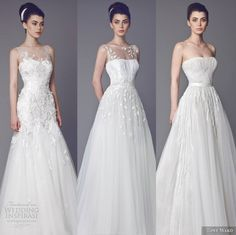 Our editor's top wedding dress picks from Tony Ward Bridal 2015 Wedding Dresses Collection.