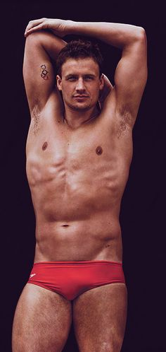 Ryan Lochte, Olympic swimmer. and God Bless America