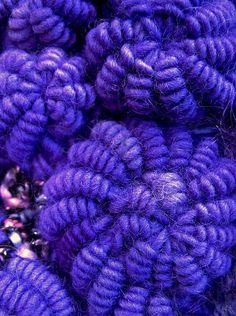 Crochet Bullion Stitch Spirals